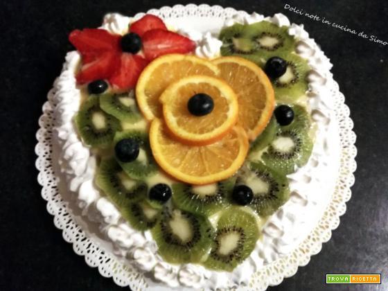 Dolce cuore alla frutta