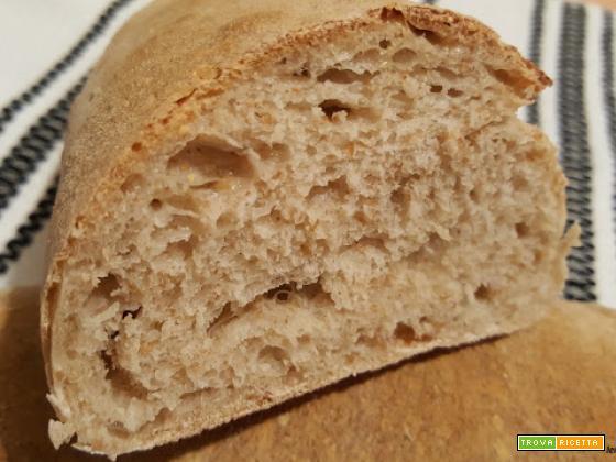 Filoncini di pane semintegrali con lievito madre