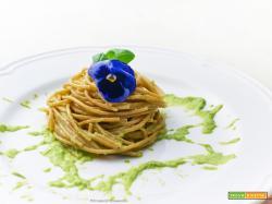 spaghetti all'avocado
