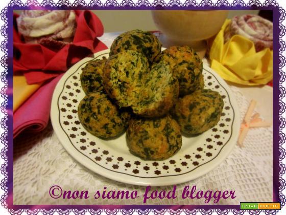Polpette di Pollo e Spinaci al forno, ricetta senza uova