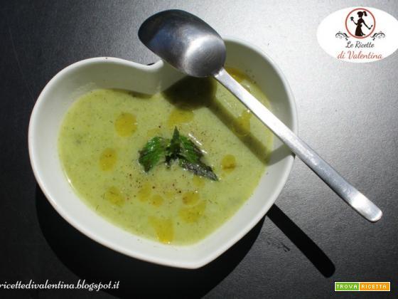 Crema di zucchine alle erbe aromatiche