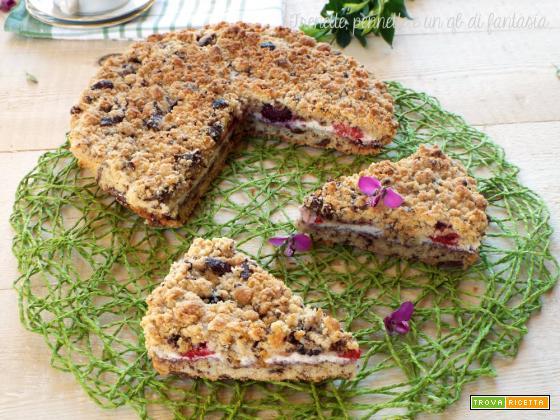 Crostata cookie ai frutti rossi