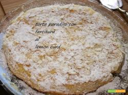 TORTA PARADISO CON FARCITURA LEMON CURD