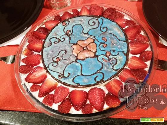 Sformato fragole e cioccolato