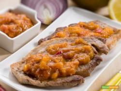 Lonza di maiale al mango, un mix di sapori unici