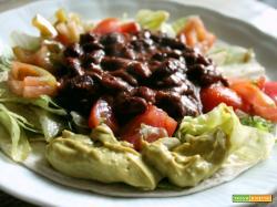 Tacos con carne veloci