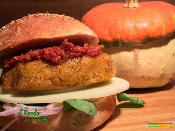 Burger vegani di zucca e lupini facili e golosi