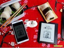 MANGIA CIO' CHE LEGGI 97: Onigiri al tonno e maionese ispirati da I love Tokyo di La Pina