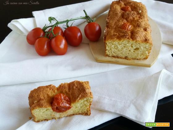 Plum cake al parmigiano – ricetta merenda salata