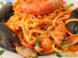 Spaghetti ai frutti di mare con il Cookeo