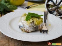 Tortini di alici limone e menta