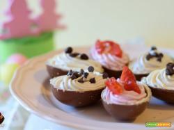 Ovetti di cioccolato ripieni