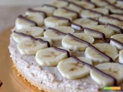 Cheesecake light alla banana