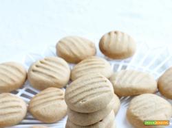 Peanut Butter Cookies – Biscotti con burro di arachidi