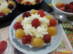 Cheesecake ai lamponi monoporzione