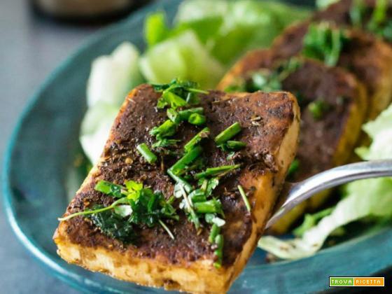 Tofu piccante alle erbe aromatiche in salsa di soia – AMC