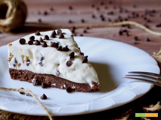 Cheesecake Stracciatella Senza Cottura