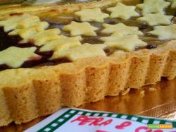Crostata bisgusto: Fiordifrutta alle Pere e Gocce di Cioccolato e Fiordifrutta Lampone