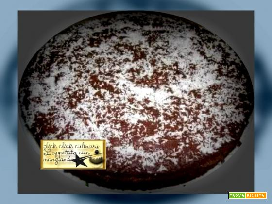 Torta di Cioccolato Con Nutella e Cocco