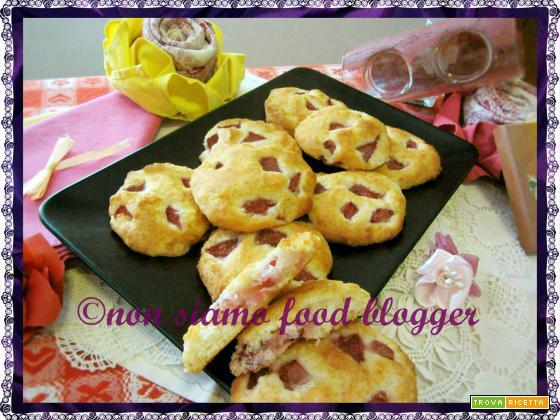 Biscotti light fragole e ricotta (senza uova, burro e latte)