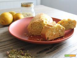 Torta limone e pistacchi