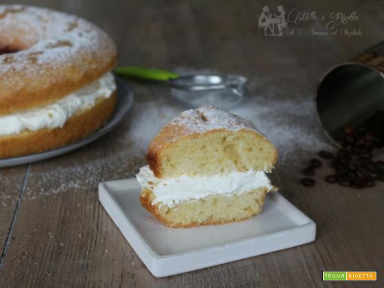 Ciambella alla vaniglia farcita, ricetta veloce