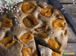 Torta soffice alle albicocche: ricetta vegan e senza glutine
