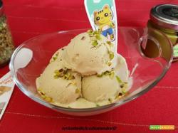 Gelato con Pasta di Pistacchio Sciara e granella al pistacchio