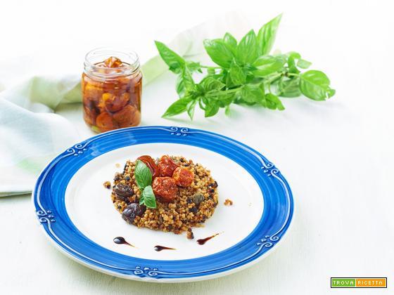 Couscous integrale alla mediterranea