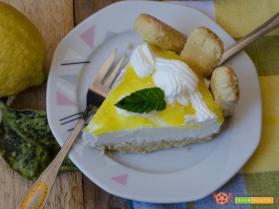 Cheesecake tiramisu al limone – Ricetta senza cottura