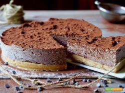 Torta Fredda al Cioccolato e Ricotta