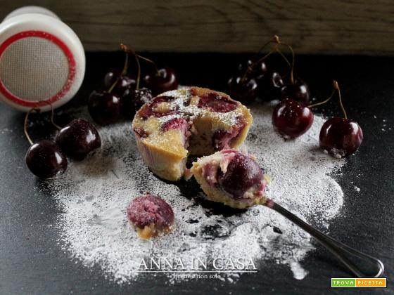 Mini clafoutis gluten/lactose free alle ciliegie