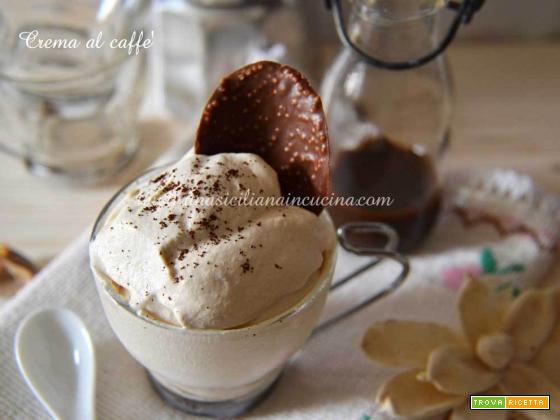 Crema al caffè fredda