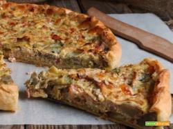 TORTA SALATA DI CARCIOFI