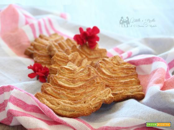Palmine di sfoglia dolci