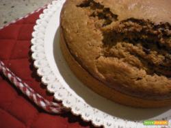 Torta allo yogurt di soia, cioccolato e cremor tartaro
