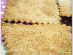Crackers Integrali al Rosmarino