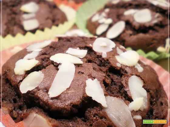 Muffins Vegani Cioccolato e Mandorle