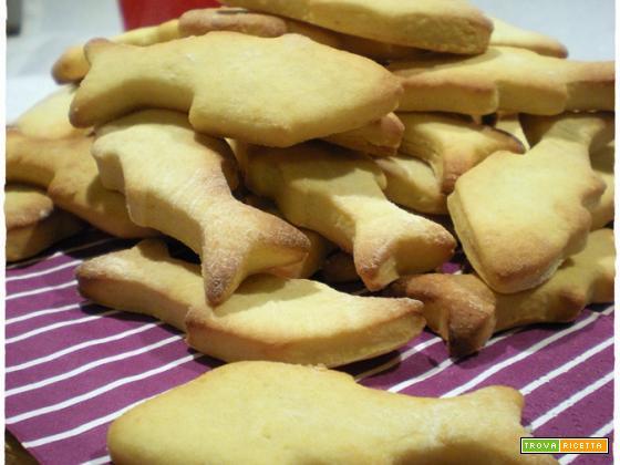 Biscotti per il pesce d'Aprile
