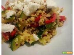 Burgul e Quinoa con verdure
