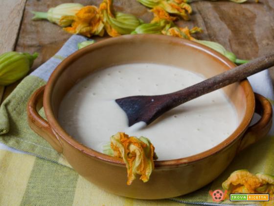 Pastella alla birra per fiori di zucca senza uova