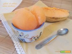 Gelato al melone senza zucchero
