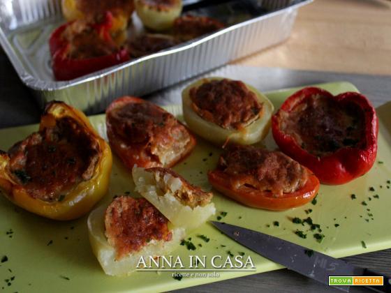 Verdure con ripieno al forno
