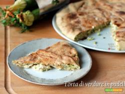 Torta di zucchine in padella, cottura senza forno