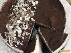 Torta ai 3 cioccolati – senza cottura