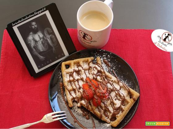 MANGIA CIO' CHE LEGGI 100: Waffle alla guinnes ispirati da 366, La favola di Donal e Isabel di Naike Ror