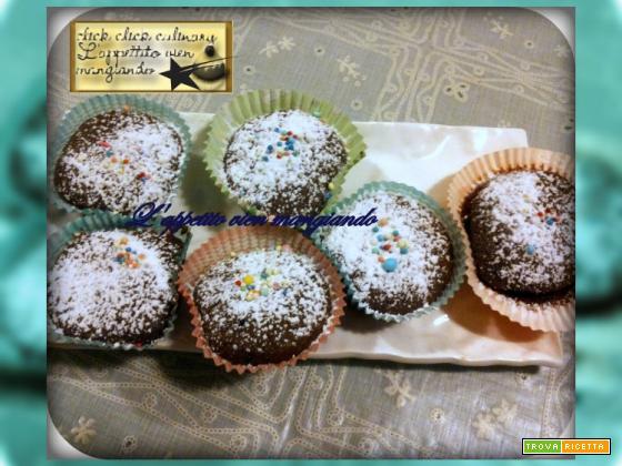 Muffin al Cacao con e senza Glutine e Lattosio