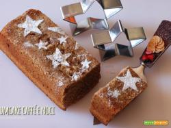 Plumcake al caffé e noci caramellate