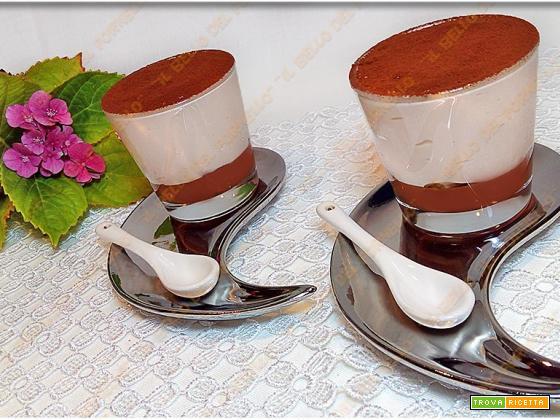 Crema fredda di caffè e panna