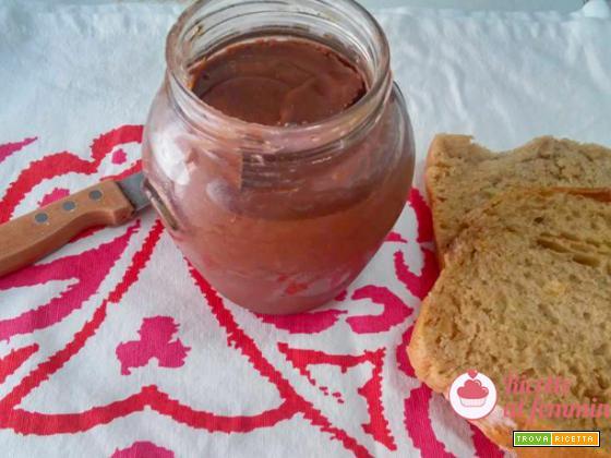 Crema ai datteri e cioccolato con bimby